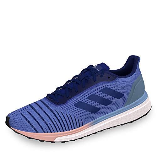 adidas Damen solar-antrieb w lila / blau navy / orange 42 8 uk blau