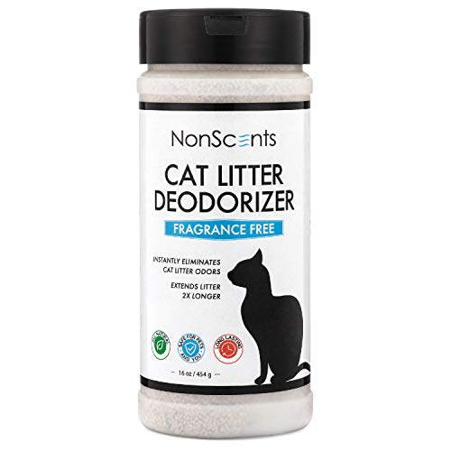NonScents Odor Control Cat Litter Deodorizer - Professional Strength Odor Neutralizer, 16oz
