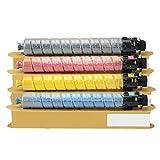 MGMG Cartucho de tóner de repuesto para Ricoh MP C6003C compatible con impresoras Ricoh MP C4503 5503 6503 4504 6003 6004 6004SP