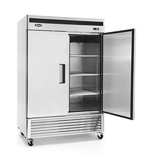 Armoire Réfrigérée Négative 2 Portes - 1300 Litres - Atosa - R290 2 Portes Pleine