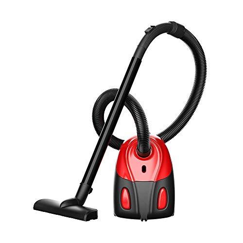 HNLSKJ Aspiradora inalámbrica para aspiradora, color rojo, 1000 W, gran aspiración, multifunción, colector de polvo eléctrico, 21,5 x 16,5 x 30 cm, potente limpiador inalámbrico de vacío (color: rojo)