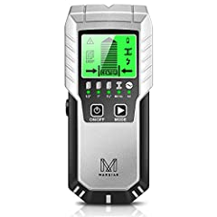 "Upgraded 5-in-1 Wall Scanner: M MARSIAN 5-in-1 stud finder provides you with 5 scanning modes. This stud finder wall scanner includes stud modes for locating studs up to 1/2""(13mm) deep, 1""(25mm) deep, and 1 1/2""(38mm) deep, metal scan mode for detec..."