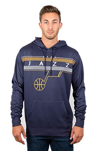 Unk NBA Midtown - Sudadera con Capucha para Hombre, Hombre, Sudadera de Forro Polar de la NBA para Hombre, GHM1461F-UJ-L, Azul Marino, L
