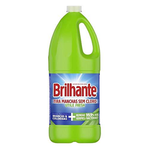 Tira-manchas Líquido Brilhante Utile Fresh Sem Cloro 6x2l