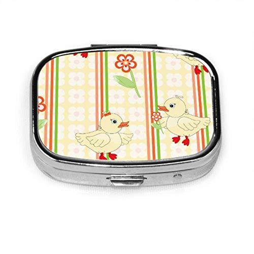 Kleine Pato Lindo Pille Linda Pille Tägliche Pille Tragbare Pille für die Geldbörse Tragetasche Reisepillen Box