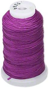 Simply Silk Beading Thread Cord Size F Plum 0.3480mm Animer Free Shipping Cheap Bargain Gift and price revision 0.0137 Spoo
