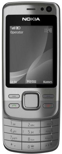 Nokia 6600i Slide Silver (MP3, Bluetooth, Opera Mini, Kamera mit 5 MP) Handy