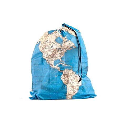 Kikkerland Around The World Travel Bags, Set of 4