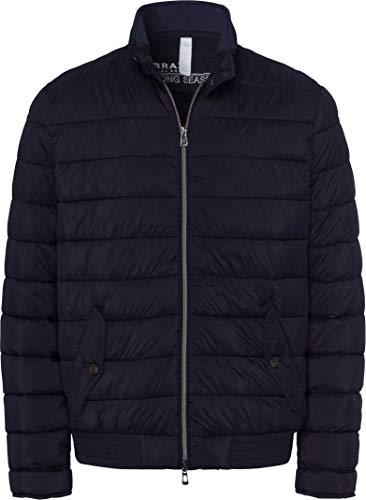 BRAX Herren Style Massimo Jacke, Navy, Large (Herstellergröße: 52)