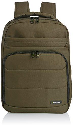 National Geographic Pro Rucksack mit 3 Fächern Laptopfach 17,1 Zoll Khaki