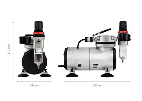 Werku WK500800 Mini Compresor Aerografía