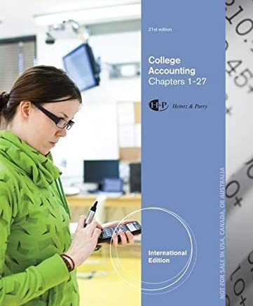 College Accounting: Chapters 1-27 by James Heintz (2013-01-31)