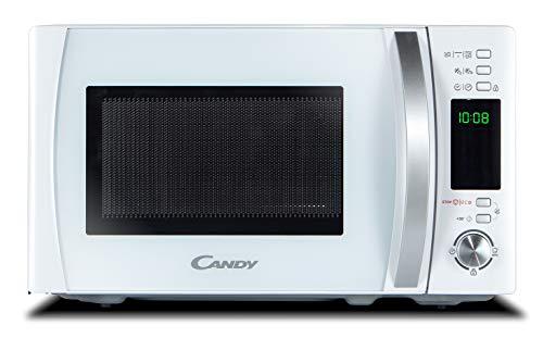 Candy CMXG 20DW Microondas con Grill y Cook In App, 40 Programas Automáticos, 700 W, 20 litros, Blanco