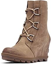 Sorel Women's Joan of Arctic Wedge II Boots, Ash Brown, 9.5 Medium US