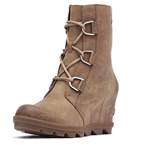 Sorel Women's Joan of Arctic Wedge II Boots, Ash Brown, 9 Medium US