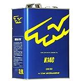 TM-SQUARE(TMスクエア)スイフトスポーツZC33S専用エンジンオイル K14C 100%化学合成油(PAO&エステル) 5W-30 3.9L TMOL-V03901