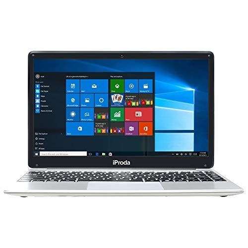 iProda Ordenador Portátil 14 Pulgadas, Intel Celeron i3-6157U @ 2.4GHz,8GB RAM 256GB SSD,Windows 10 Pro,2.4/5G WiFi,Teclado español