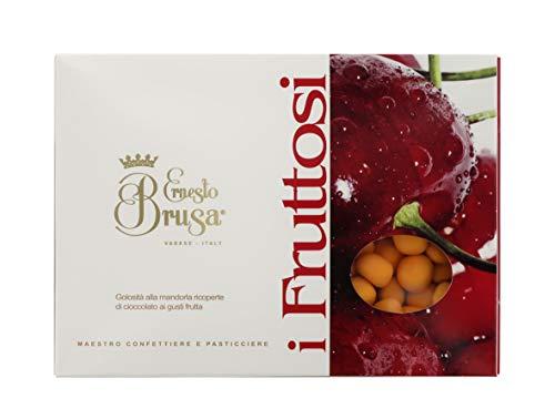 Ernesto Brusa Peladillas de Naranja escarchada Cubiertas de Chocolate Negro - 1 kg
