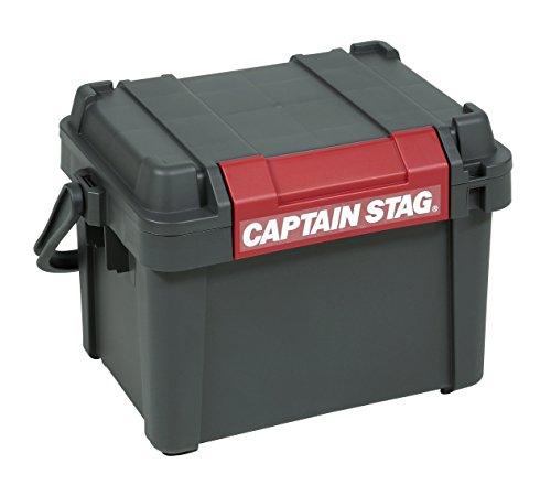 キャプテンスタッグ(CAPTAIN STAG) 工具箱 ツールボックス ハンディ アウトドア コンテナ ハンドル付き 日本製 幅518×奥行380×高さ345mm UL-1022