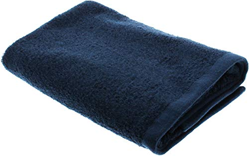 バスタオル 神様のタオル 高級スーピマ綿を使ったプレミアム ネイビー SB005