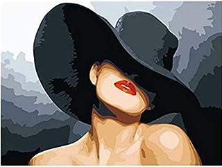 Amazon Fr Chapeau Femme Peintures Tableaux Posters Et Arts Decoratifs Cuisine Et Maison