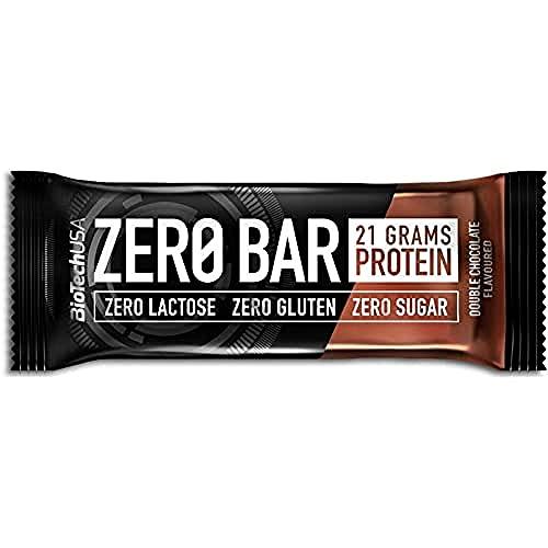 BioTechUSA Zero 20 Barre, Cioccolato Plum - 1000 g