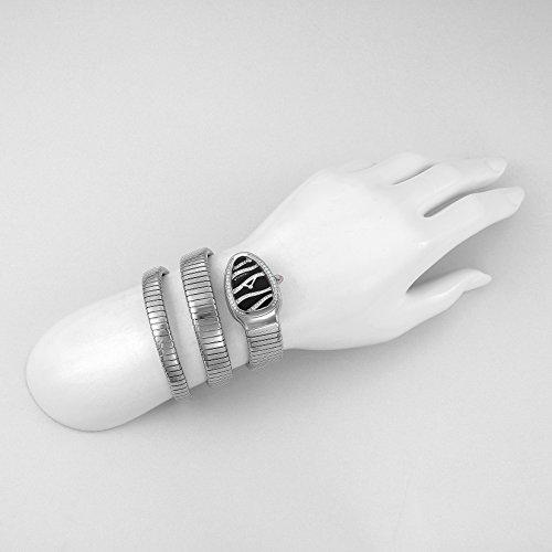 [ブルガリ]腕時計セルペンティブラック文字盤ダイヤモンドSP35BDSDS-2Tレディース並行輸入品シルバー