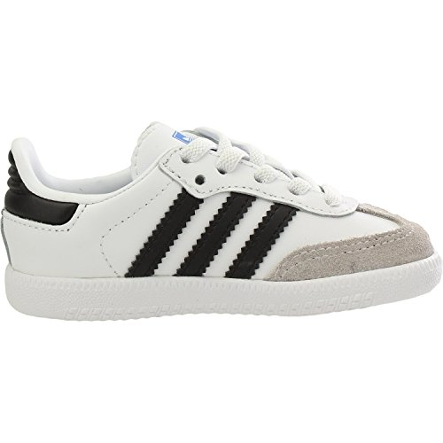 adidas Samba Og El I, Unisex Babies Slippers, White Ftw Bla Negbás Gracla 000, 5k UK (21 EU)