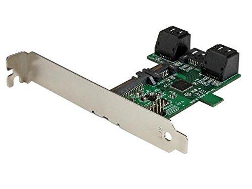StarTech.com ST521PMINT 1 Port auf 5 Port SATA Schnittstellenkarte (Serial ATA 6 Gbs Controller, 5 fach S-ATA Port Multiplierer) Silber
