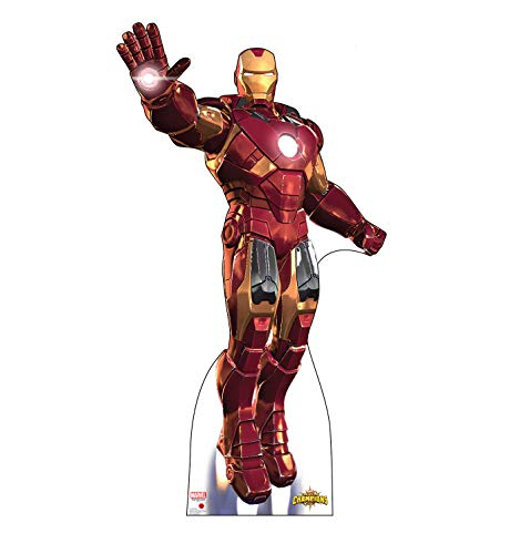 Advanced Graphics Iron Man Life Size Cardboard Cutout Standup - Marvel: Contest of Champions