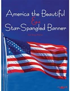 America the Beautiful & Star-Spangled Banner for Alto Sax & Piano
