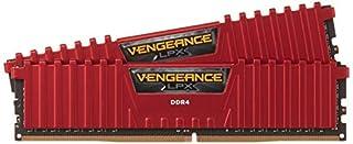 Corsair Vengeance LPX 8GB (2x4GB) DDR4 DRAM 2400MHz (PC4 19200) C16 Memory Kit - Red (B019HVO7II) | Amazon price tracker / tracking, Amazon price history charts, Amazon price watches, Amazon price drop alerts