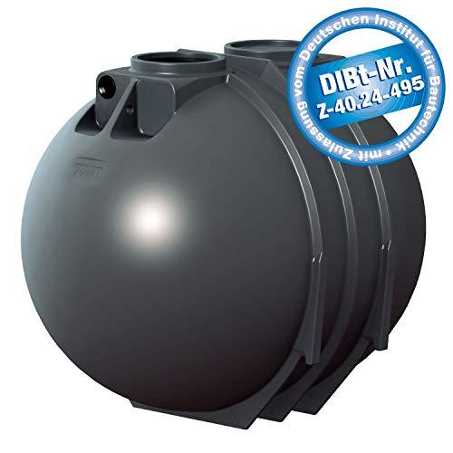 PREMIER TECH AQUA GmbH Abwassersammelgrube 7600 Liter Blackline II DIBt - Zulassung