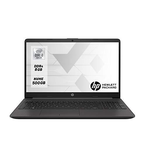 HP 250 G7 Ordenador portátil 15.6' HD Intel i3 ,8 GB RAM, 500 GB M.2 SSD, Windows 10 Pro,Teclado QWERTY Italiano