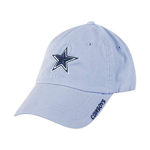 NFL Dallas Cowboys Mens Basic Slouch Cap, OSAFA, Blue