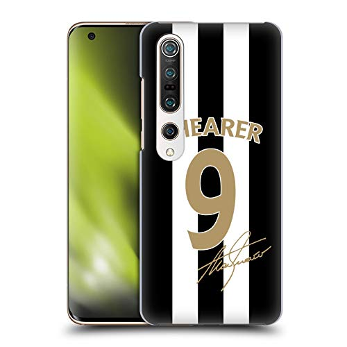 Head Case Designs Officially Licensed Newcastle United FC NUFC Alan Shearer Signed Gold Jersey Retro Badge Collection Hard Back Case Compatible with Xiaomi Mi 10 Pro 5G