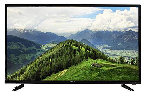 """LEVEL 39"""" Pouces 99 cm TV HD8239 (TNT, Full Matrix LED Light, HD Téléviseur, Triple Tuner, CI +, HDMI, USB) [Classe énergétique A] Design Noir Brillant televiseur (modèle 2020)"""
