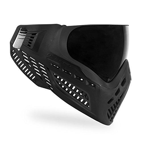 Virtue VIO Ascend Paintball-Schutzmaske mit Dual-Sichtfeld, Thermal, Schwarz