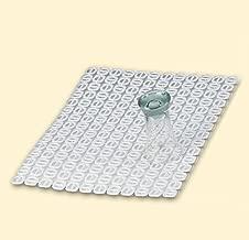Unique Polypropyl/ène 11 L Denox 10330.050 Poubelle Cylindrique Blanc Opaque