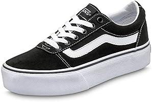 Vans Ward Platform Canvas, Sneaker Donna