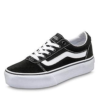 Vans Ward Platform, Sneaker Donna, Canvas Black/White 187, 36 EU (B07BN1ZLKK) | Amazon price tracker / tracking, Amazon price history charts, Amazon price watches, Amazon price drop alerts