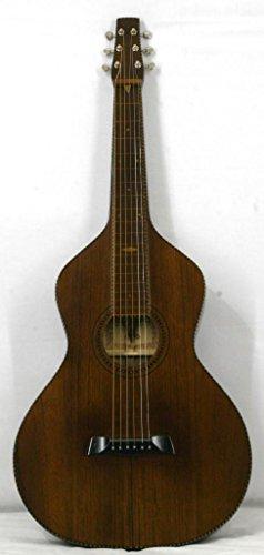 'Musikalia Gitarre Hawaiian Lap Steel Guitar Weissenborn Solide Akustikgitarre Style 4Copy in Walnuss Daniela von Geigenbauer