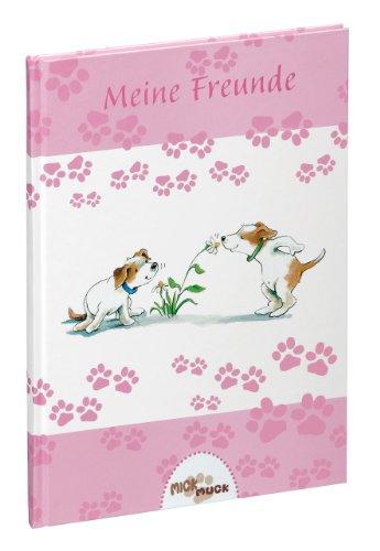 Pagna 20516-15 Buch - Meine Freunde Mick und Muck Motiv Blumenfreunde, 14.5 x 22 cm, 60 Seiten