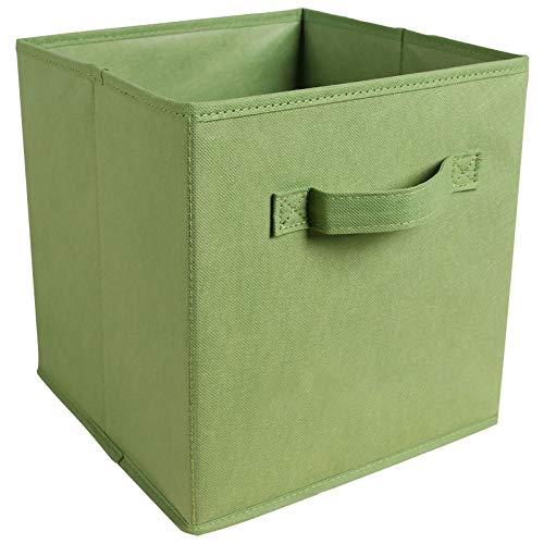 Bolsa de Almacenamiento portátil, New Cube Caja de Almacenamiento Plegable Ropa Bins DE Almacenamiento para Toys ORIBERADORES CESTAS para LA Oficina DE NIVERÍA Closet Pable Contenedor