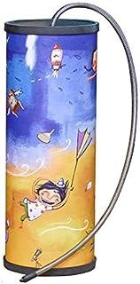 Primavera Tambor desde Bali Grande pintada a mano Trueno Tambor Gran Sonido Efecto Comercio Justo