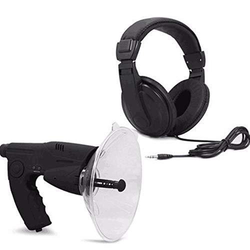 Nomi Micrófono Direccional De Antena Parabólica, Un Solo Ojo X8 Veces La Audición De Larga Distancia, Potente Sistema De Detección De Sonido, Fácil De Identificar Y Almacenar