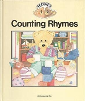 Hardcover Teddies Counting Rhymes Book