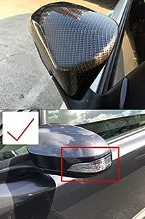 HIGH FLYING Para Kadjar 2015-2019 ABS Embellecedor Espejos laterales Cromado 2 piezas Instalado con cinta adhesiva de 3 m