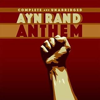 Anthem audiobook cover art