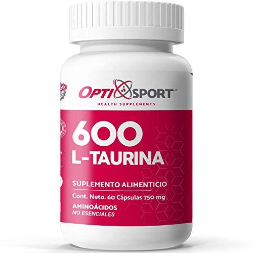 L-Taurina 600 con 60 caps.
